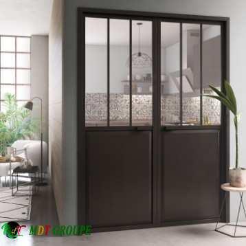 bloc-porte-atelier-laquee-noir-artens-h-204-x-l-146-cm-poussant-gauche